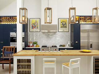 KITCHENS: The Bovingdon Cue & Co of London Modern Mutfak