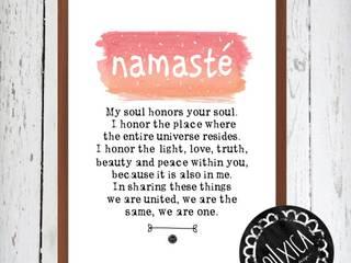 Poster *Namasté:   por Oi! Xica