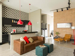 Living room by Samaia Arquitetura+Design, Modern