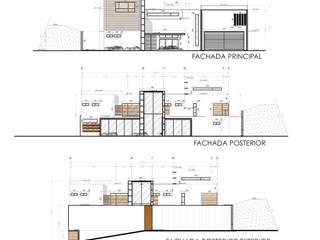 Casa Jupiter : Casas de estilo  por ZUM ARQUITECTURA