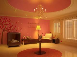 HABITACION PARA NIÑA Dormitorios infantiles modernos de Ar.Co Moderno