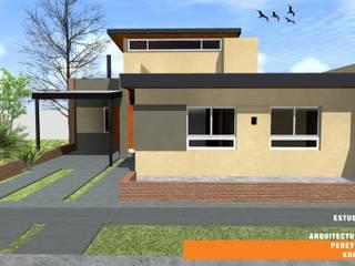 CASA TK: Casas de estilo  por Estudio de Arquitectura Pereyra Kohli