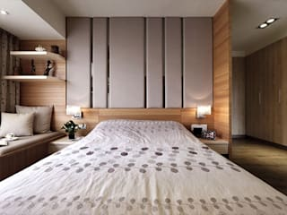 [HOME] Awesome Space Design: KD Panels의  침실,모던 우드 우드 그레인