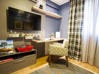 Estúdio HL - Arquitetura e Interiores Modern study/office