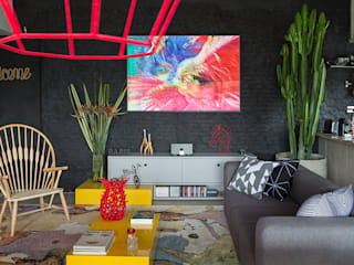 Modern Living Room by Eliane Mesquita Arquitetura Modern