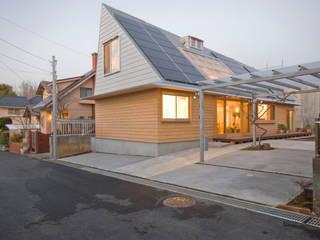 에클레틱 주택 by 千田建築設計 에클레틱 (Eclectic) 우드 우드 그레인