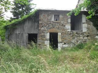 Ristrutturazione villetta entroterra ligure Casa rurale di Architetto Termografo Denise Vola Rurale