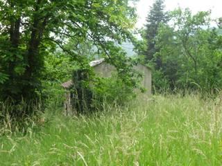 Ristrutturazione villetta entroterra ligure Cucina rurale di Architetto Termografo Denise Vola Rurale