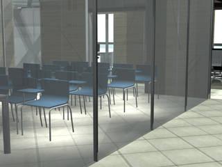 Progettazione di interni: Complessi per uffici in stile  di Architetto Termografo Denise Vola