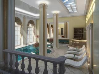 Classic style pool by EMG Mimarlik Muhendislik Proje Çanakkale 0 286 222 01 77 Classic