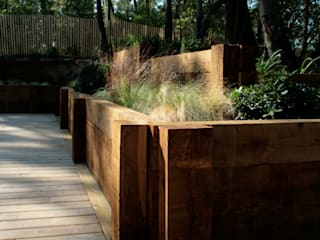 Patios & Decks by Anthemis Bureau d'Etude Paysage, Modern