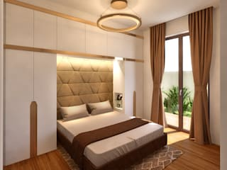 Modern style bedroom by NLDigital Modern