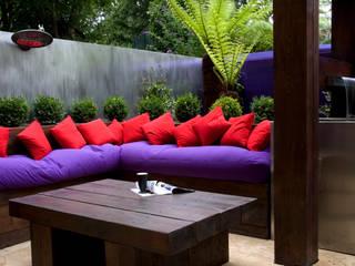 Contemporary Garden - North London モダンな庭 の Earth Designs モダン