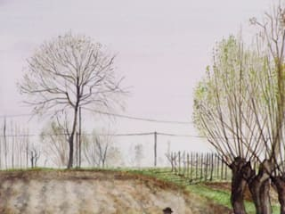 Acquarelli. di Sulla Soglia decorazioni artistiche. Rurale