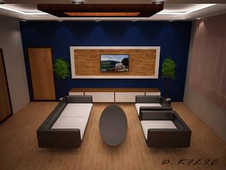 Modern style study/office by YAKAMOZ İÇ MİMARLIK VE TASARIM Modern
