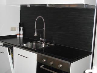 Puristisches Wohnhaus Moderne Küchen von INSIDE tp Modern