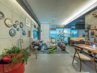 Рабочий кабинет в стиле лофт от Emmilia Cardoso Designers Associados Лофт