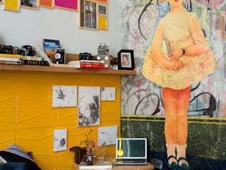 Спальня в стиле модерн от Emmilia Cardoso Designers Associados Модерн