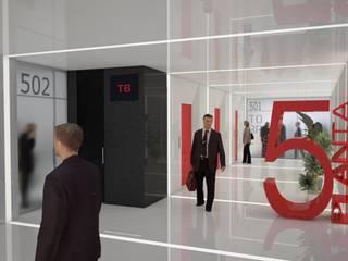 Proyectos comerciales I Edificios de oficinas de estilo moderno de QUINTECT, ARQUITECTURA Y URBANISMO, S.L.P. Moderno