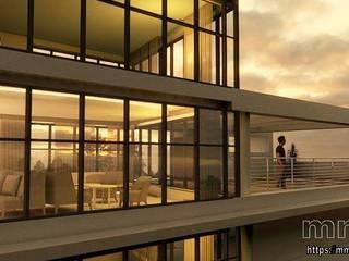 Apartment Hoteles de estilo moderno de mm-3d Moderno