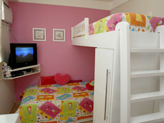 Emmilia Cardoso Designers Associados Dormitorios infantiles modernos