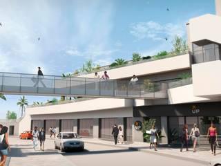 Proyectos comerciales V: Edificios de oficinas de estilo  de QUINTECT, ARQUITECTURA Y URBANISMO, S.L.P.