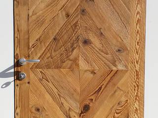 Porte in legno di recupero di Il Noce Srl Rustico