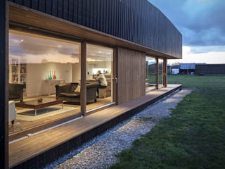 modern Houses by ecospace españa