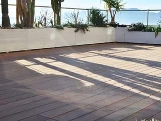 Balcones y terrazas de estilo mediterráneo de Slowgarden Mediterráneo