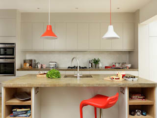 KITCHENS: The Ladbroke Cue & Co of London Modern Mutfak