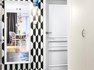 Mieszkanie Scandi: styl , w kategorii Korytarz, przedpokój zaprojektowany przez Partner Design