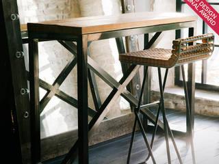 Барный стул:  в . Автор – дизайн-студия промышленного дизайнера Анны Струпинской