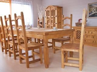 Esstisch 200cm Mexico Pinie massiv Holz Möbel Esszimmertisch Küchentisch:   von Moebelkultura.DE