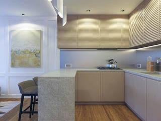 Kiev apartment Кухня в стиле модерн от EUGENE MESHCHERUK | architecture & interiors Модерн