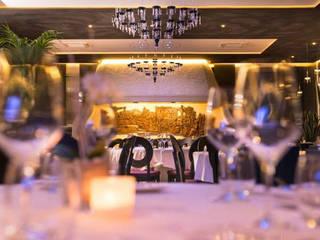 RESTAURANT NERO BALSAMICO - MODENA, ITALY: Gastronomia in stile  di LIGHT4