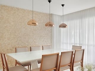 Dining room by Madi Arquitetura e Design