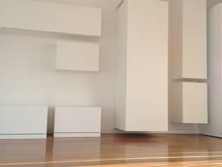 Livings de estilo minimalista de stefania pellegrinelli+architect Minimalista