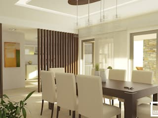 Dining room by homify, Minimalist