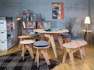 destinature - nachhaltig wohnen: modern  von Werkhaus Design + Produktion GmbH,Modern