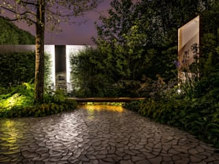 Wanddekorationen aus Beton:  Garten von Die Fliese art + design Fliesenhandels GmbH
