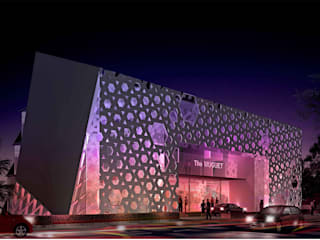 """THE MUGUET_""""lily of the valley"""" Modern hotels by Purple Architecture Modern"""