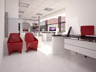 UFFICI DIREZIONALI/COMMERCIALI Complesso d'uffici moderni di 2P COSTRUZIONI srl Moderno