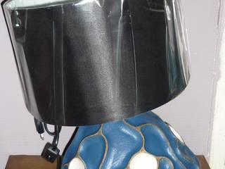Lampe toupie .:  de style  par ceramher