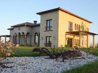 Śródziemnomorskie domy od Azcona Vega Arquitectos Śródziemnomorski