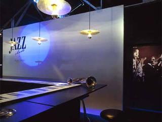 Jazz Club: Bares e clubes  por Escritório de Design Edwiges Cavalieri