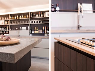 art collector loft Cucina minimalista di studiooxi Minimalista