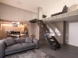 studiooxi Minimalist living room