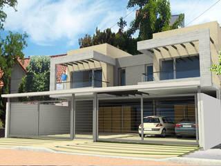 Viviendas JRV Casas minimalistas de Comodo-Estudio+Diseño Minimalista