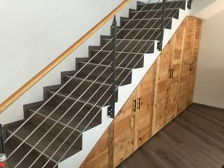 woodesign Christoph Weißer Bangunan Kantor Modern Kayu Brown