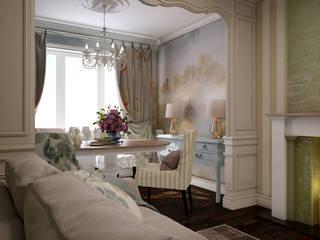 Works Гостиная в классическом стиле от Юлия Максимук Классический